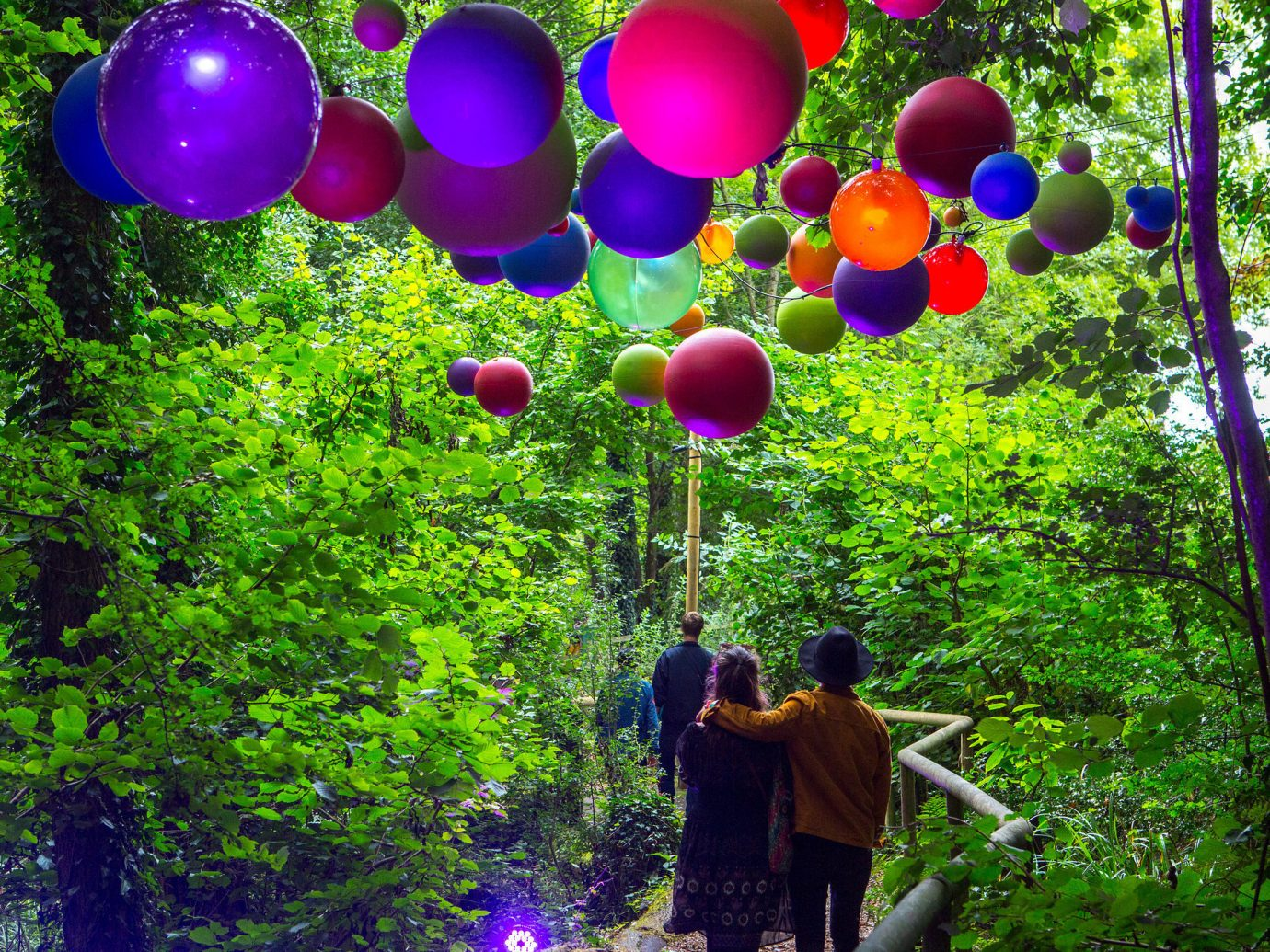 Arts + Culture tree outdoor toy flower balloon Forest wooded wood