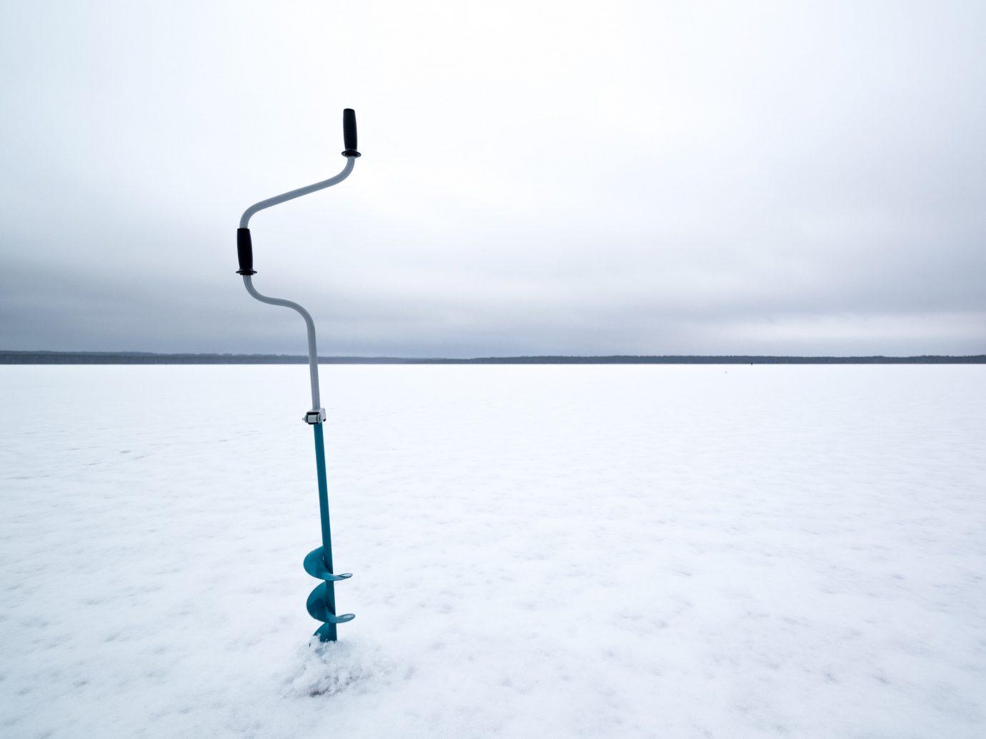 water sky outdoor horizon Sea calm cloud snow Winter freezing arctic ice shore