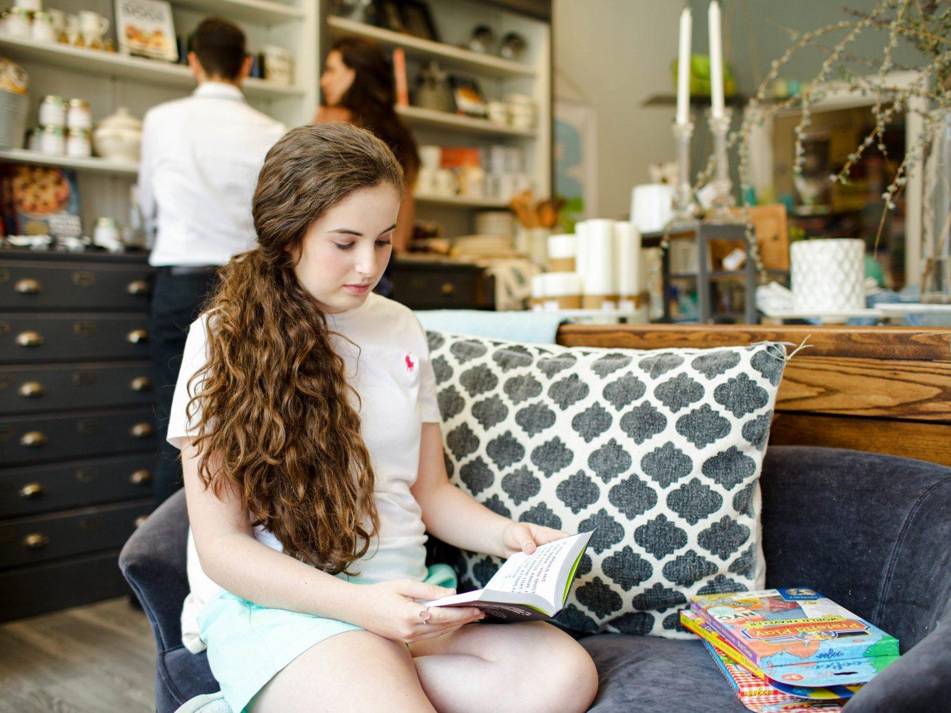 Boutique Hotels Fall Hotels Outdoors + Adventure Trip Ideas Weekend Getaways person sitting indoor room girl brown hair