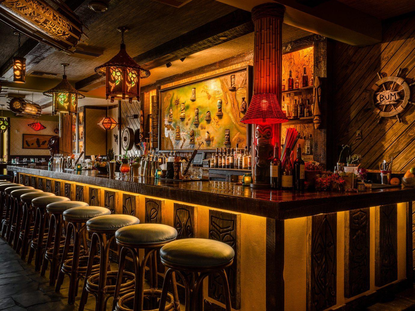Boutique Hotels Hotels Trip Ideas indoor ceiling Bar interior design tavern pub restaurant several dining room