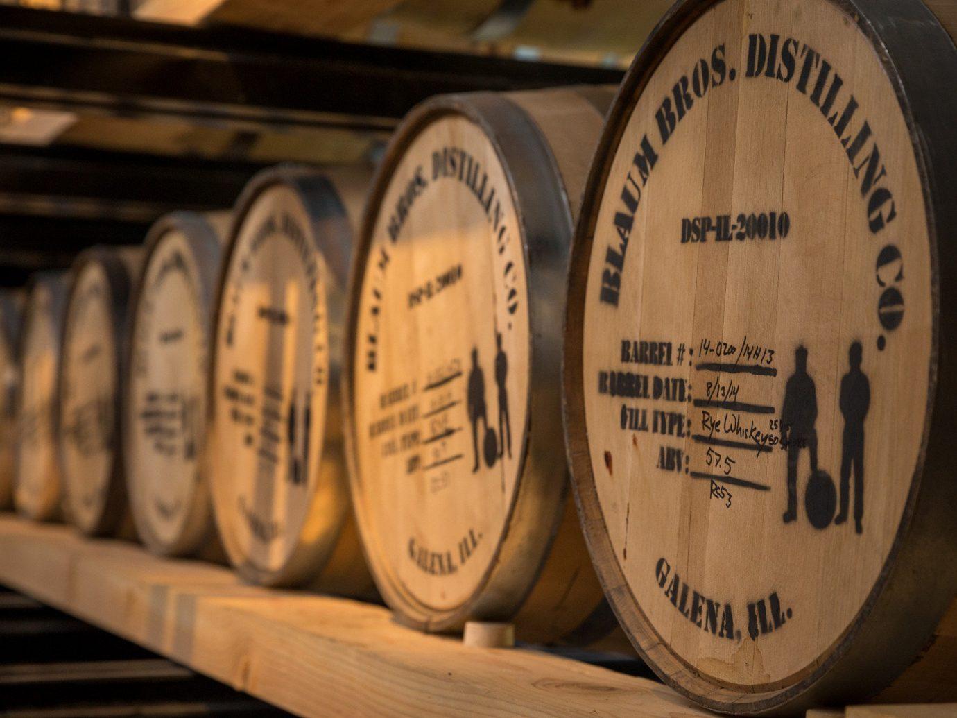 barrels distillery Trip Ideas Weekend Getaways whiskey vessel barrel indoor man made object wood guitar plucked string instruments wine Drink string instrument shape basement