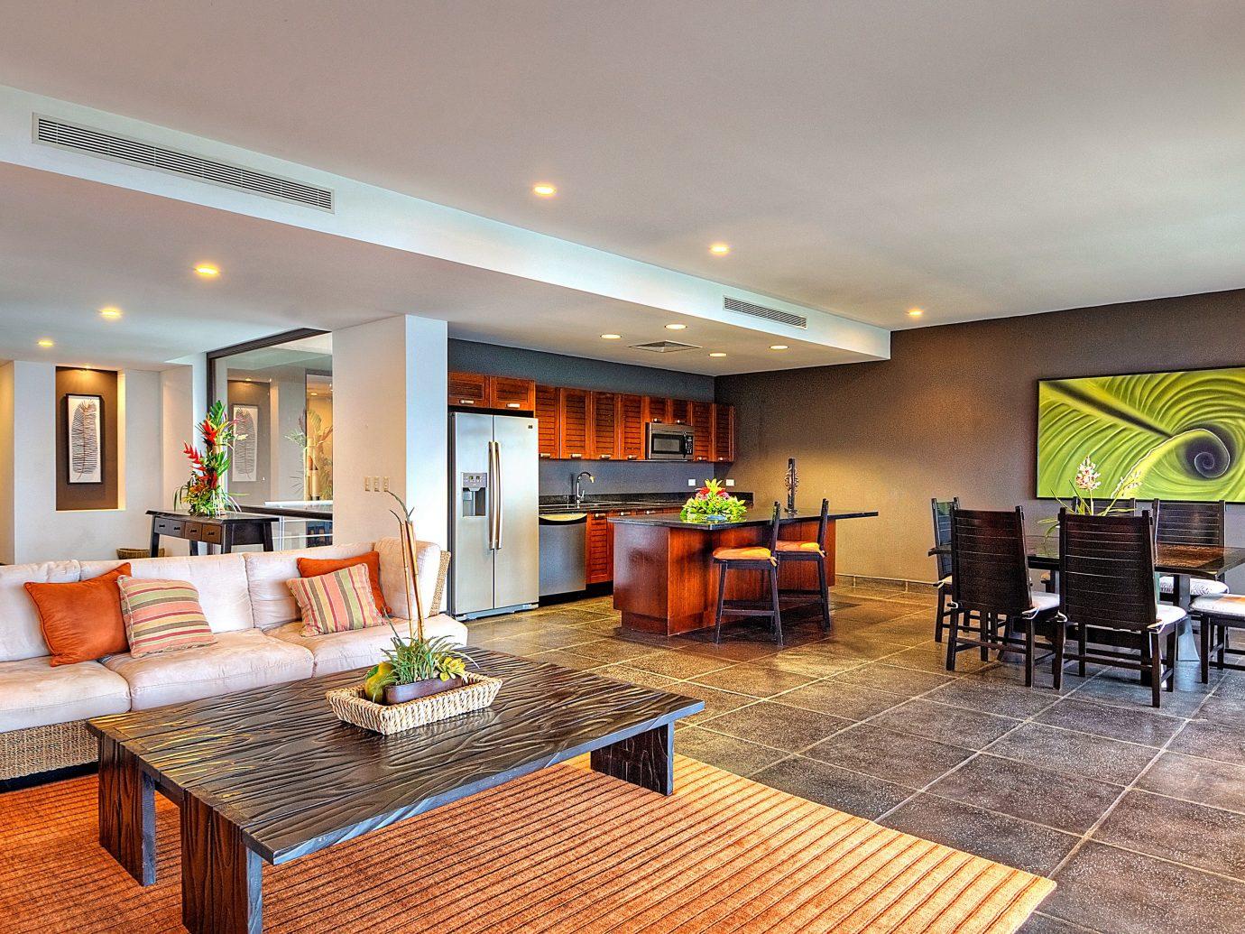 Living room at Preserve at Los Altos