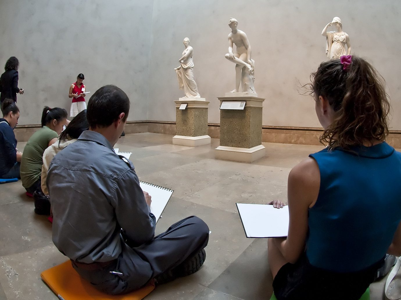 activities art Budget class drawing learning Museums painting paintings people sculpture person photograph social group performance art temple