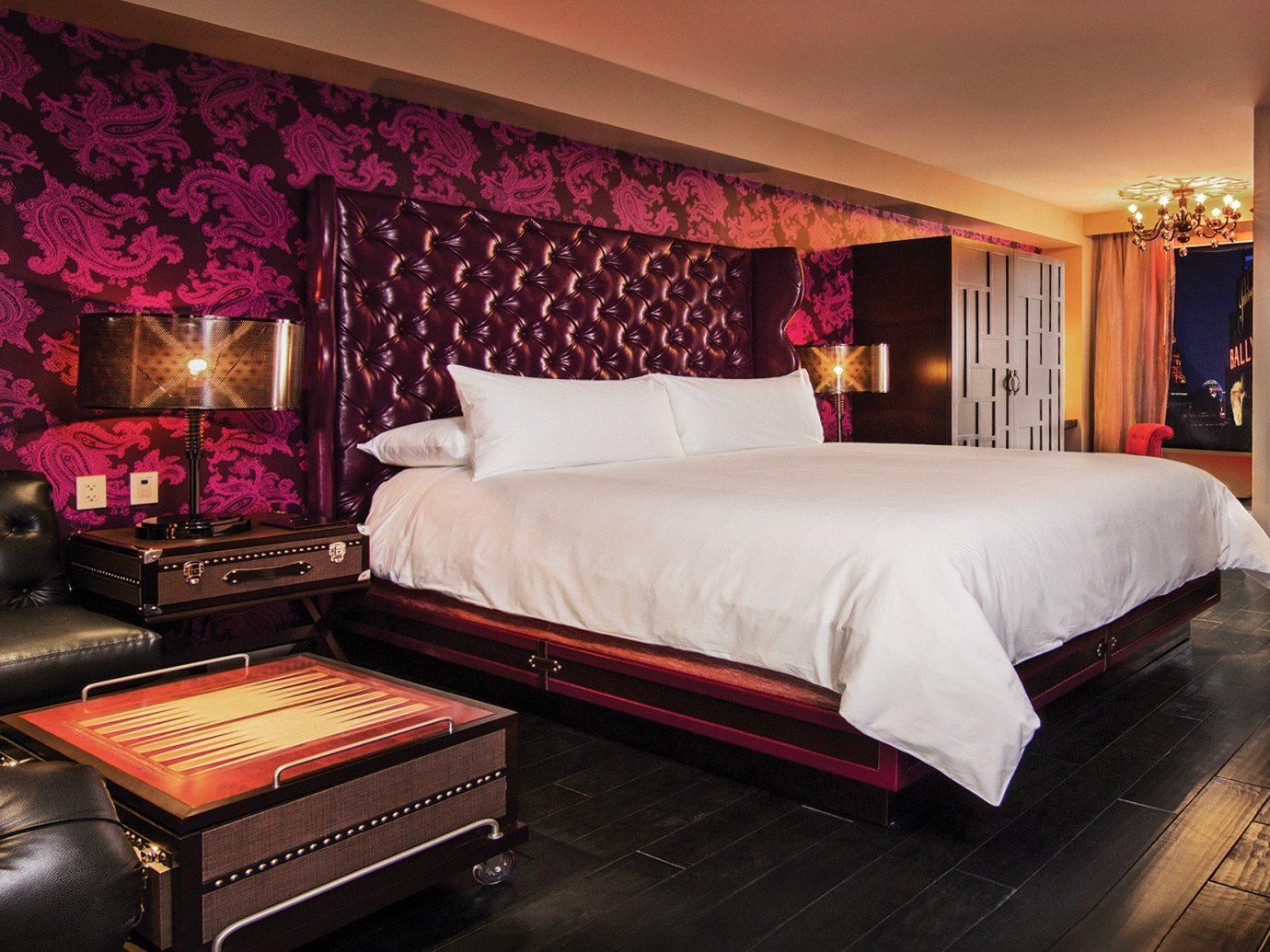 Hotels indoor bed wall floor room Suite Bedroom interior design bed sheet living room