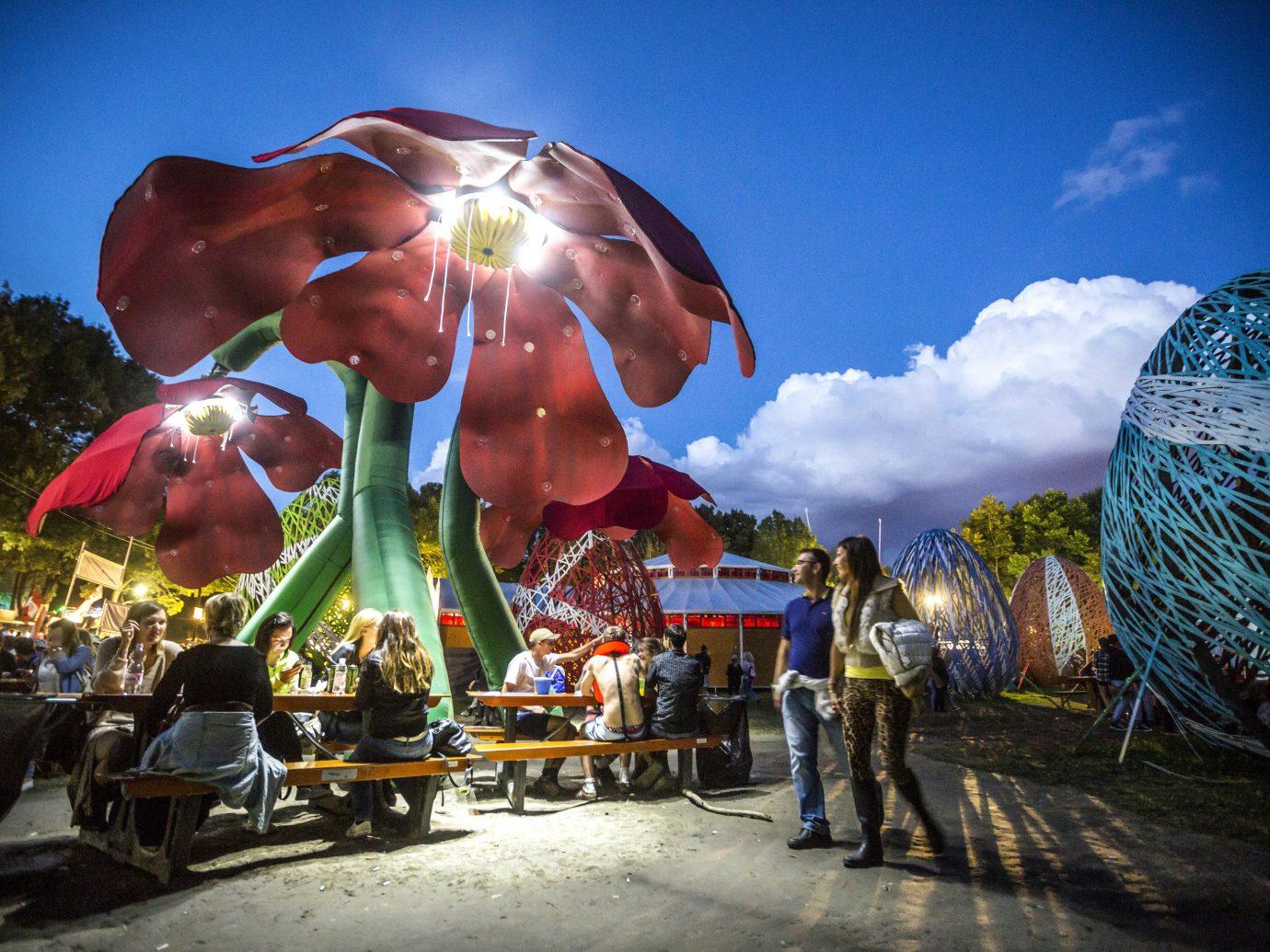 Arts + Culture sky color outdoor atmosphere of earth festival amusement park
