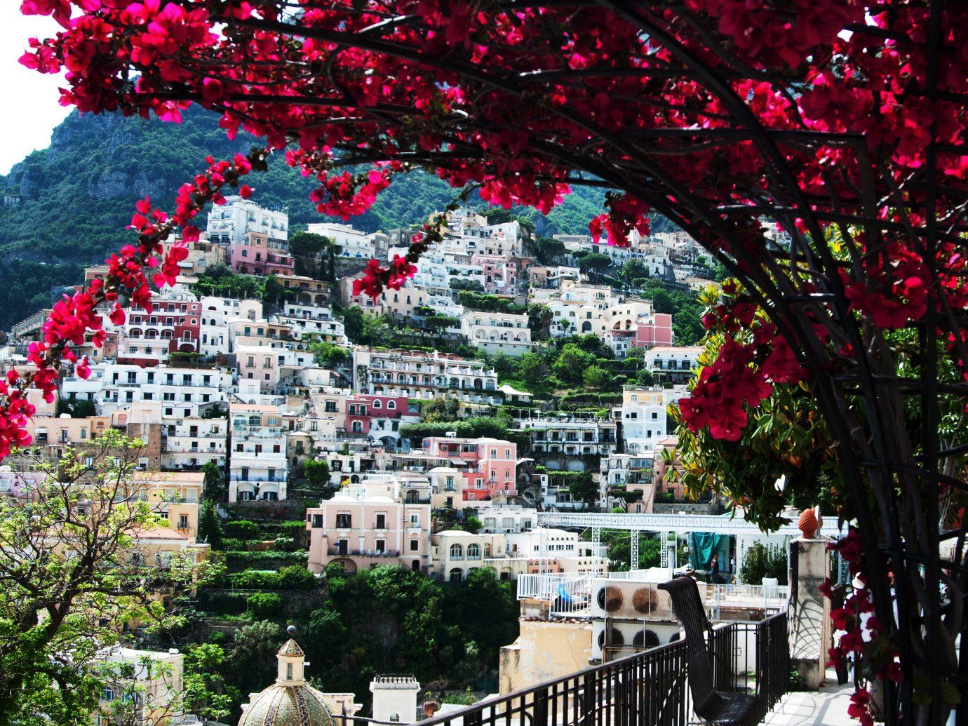 View of Amalfi from Hotel Santa Caterina