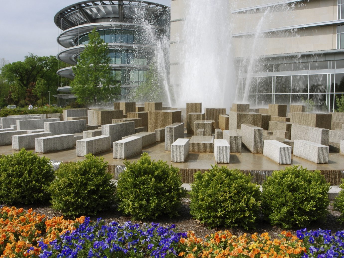 Trip Ideas Weekend Getaways outdoor flower landmark building fountain water feature park Garden memorial monument crowd