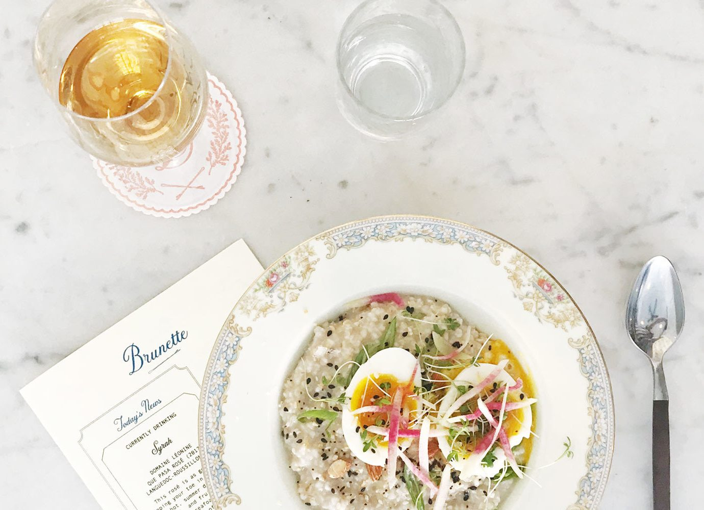 Food + Drink Romantic Getaways Weekend Getaways table dish plate food cuisine vegetarian food meal tableware soup recipe breakfast