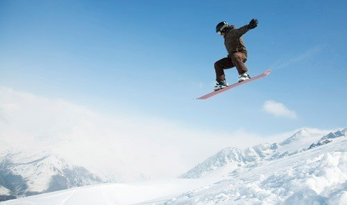 Trip Ideas outdoor snow sky air skiing man jumping person sports snowboarding snowboard telemark skiing winter sport Nature mountain extreme sport downhill boardsport sports equipment high slope day