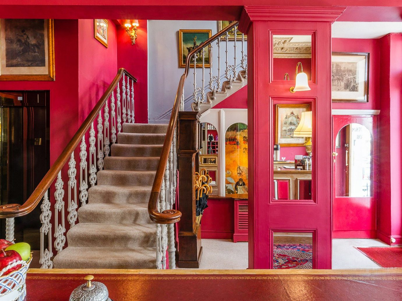 Boutique Hotels London Romantic Hotels red room interior design home house colorful colored