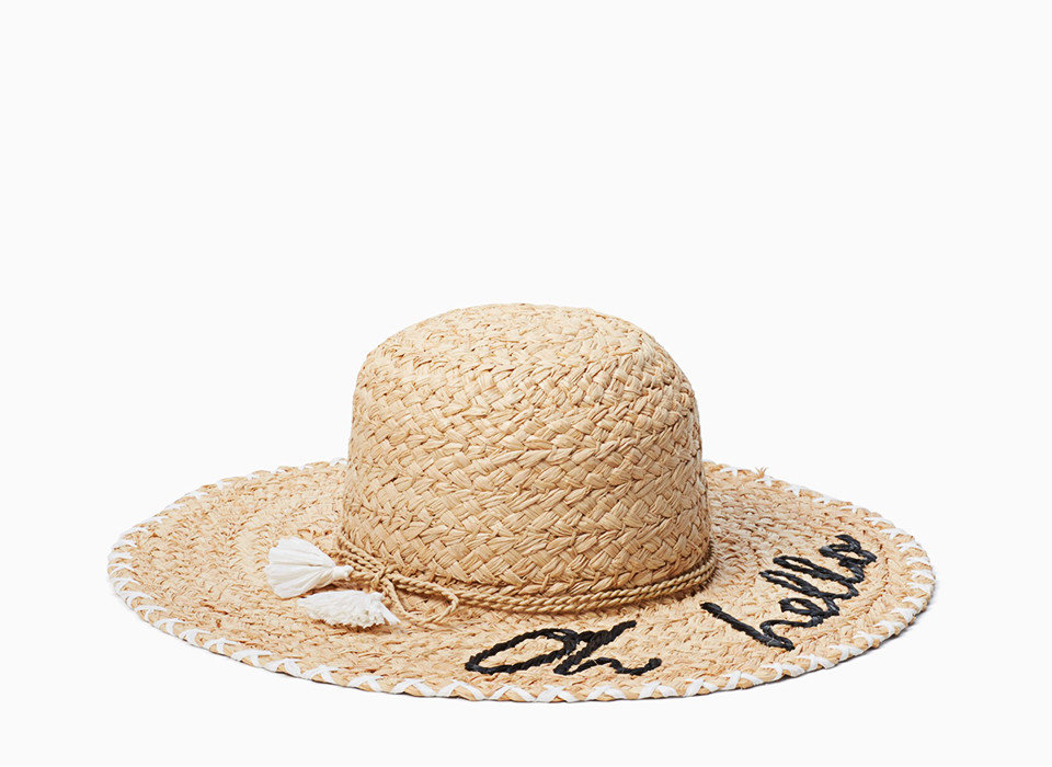 Style + Design hat headdress headgear cap beige sun hat