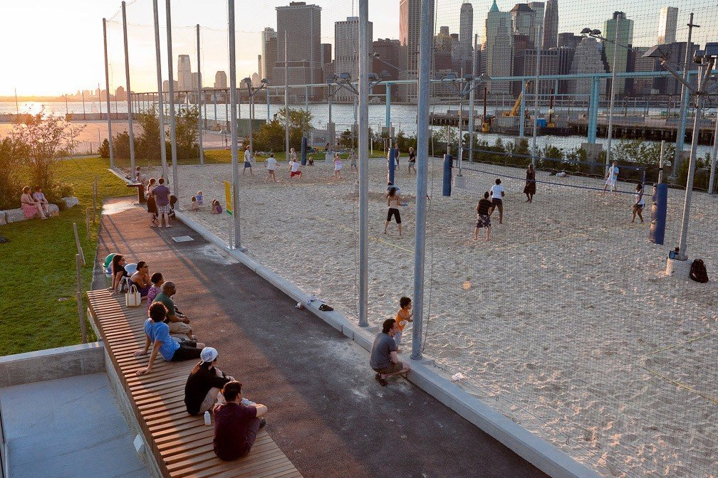 Trip Ideas outdoor ground City water people walkway town square plaza boardwalk Playground