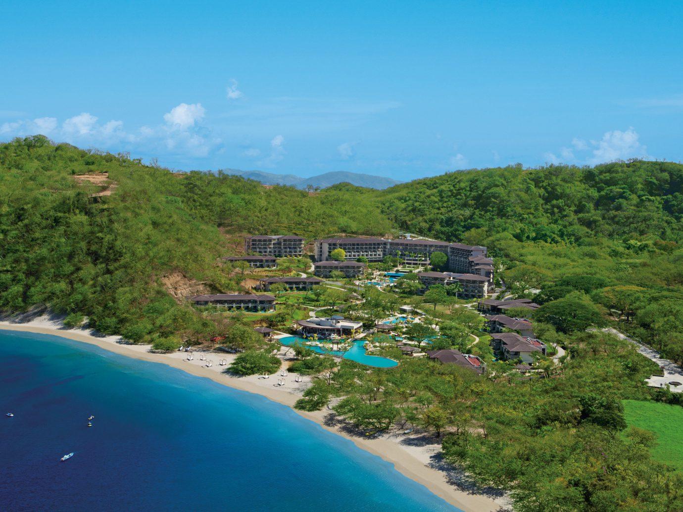 All Inclusive Dreams las Mareas Resort Aerial View