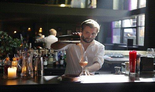 Food + Drink table person indoor bartender professional Drink sense profession Bar drinking