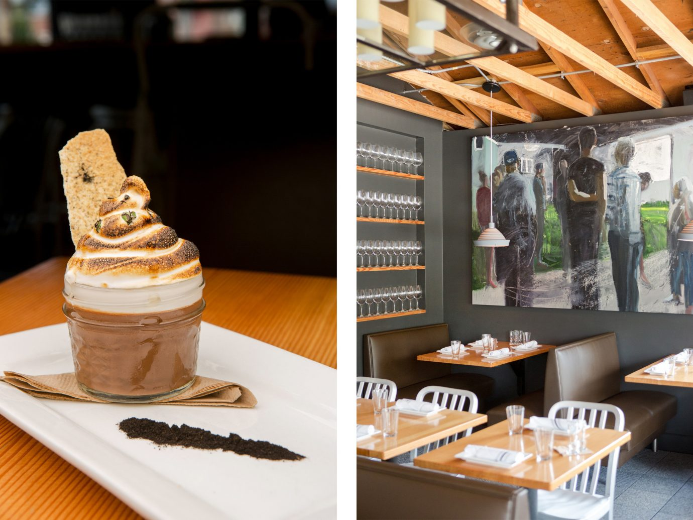 Food + Drink table indoor meal art bakery restaurant sense brunch food