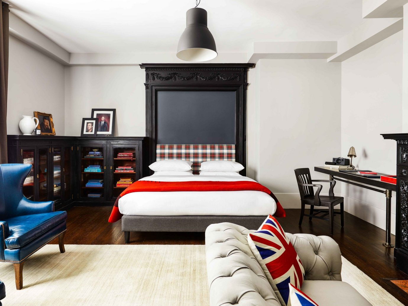 Boutique Hotels Hotels Influencers + Tastemakers Romantic Hotels Style + Design indoor sofa Living wall floor room interior design furniture living room interior designer Modern flat leather