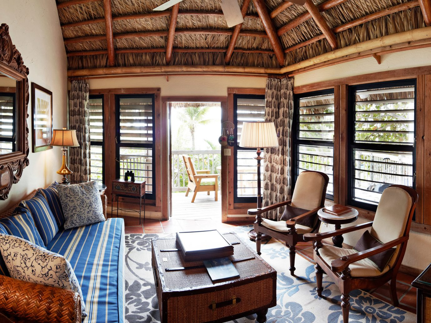 Livingroom at Little Palm Island Resort & Spa, Florida Keys