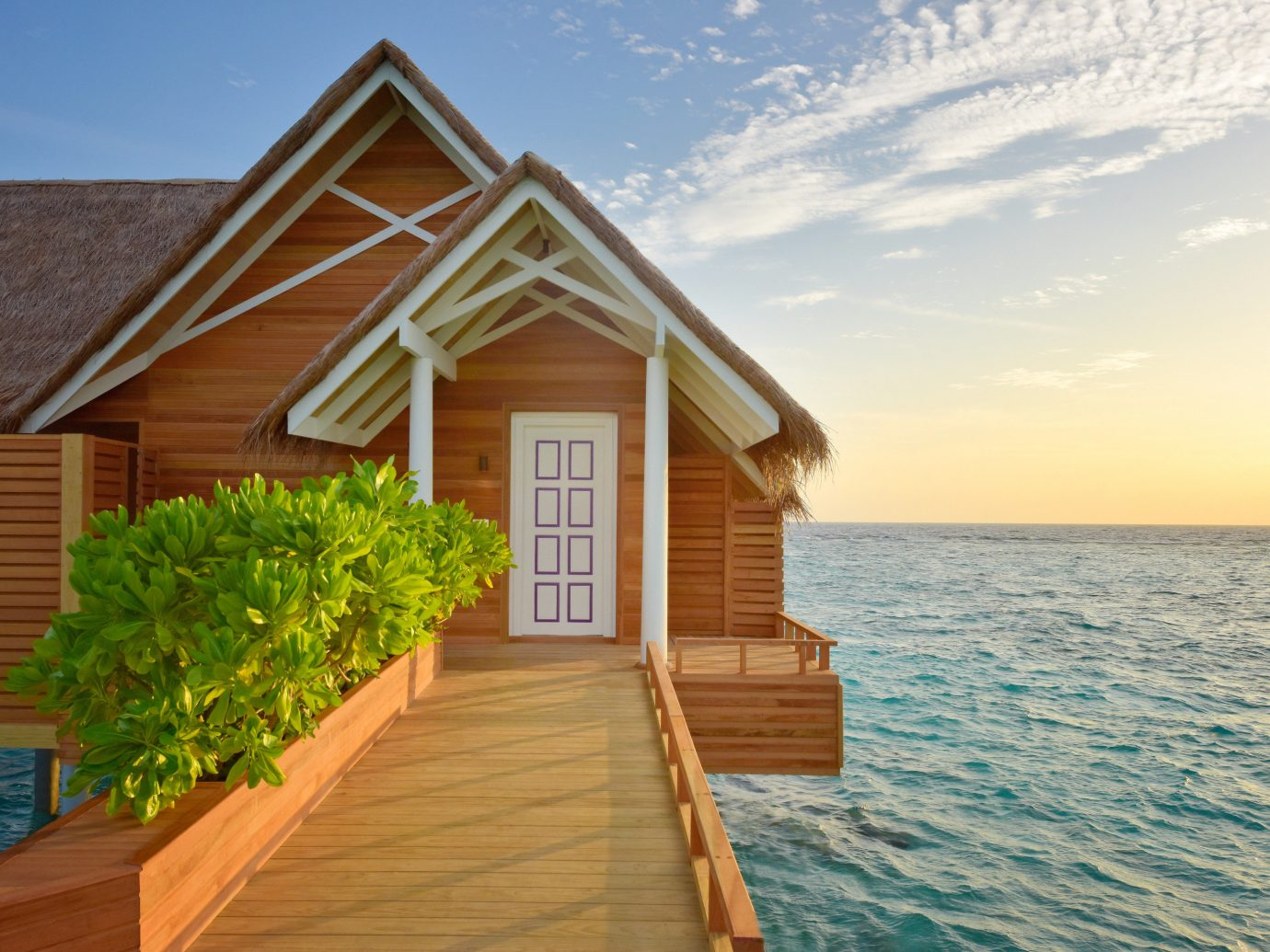 Hotels sky outdoor water house property home vacation wooden estate cottage wood siding Villa
