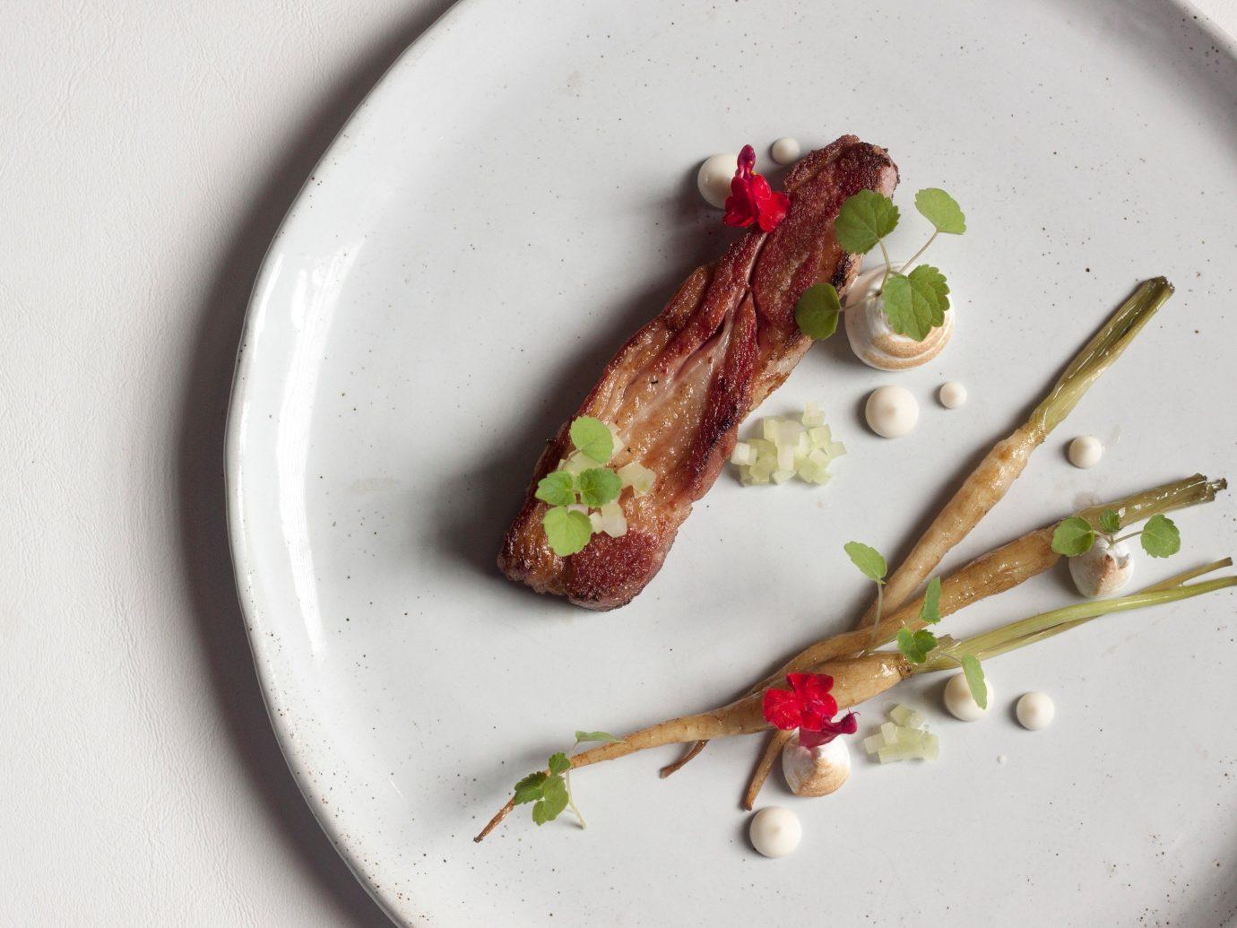 Summer Series plate food dish produce plant white slice vegetable meal dessert fruit sliced meat