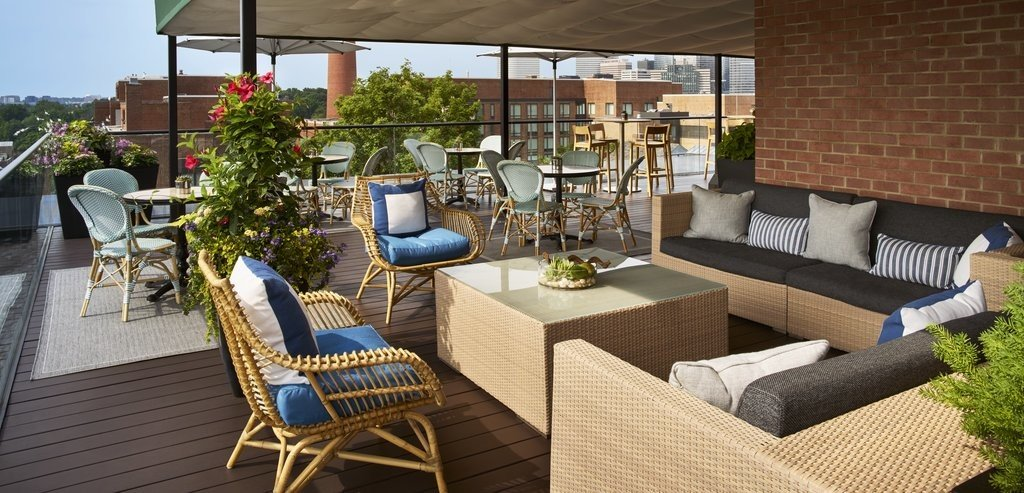 Boutique Hotels Hotels table floor chair property furniture Patio outdoor structure real estate home interior design living room penthouse apartment backyard Deck Balcony estate area several