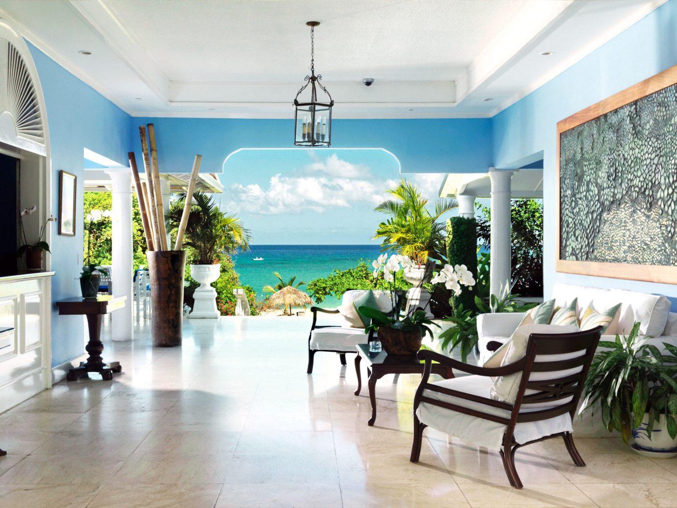 Lobby at Jamaica Inn