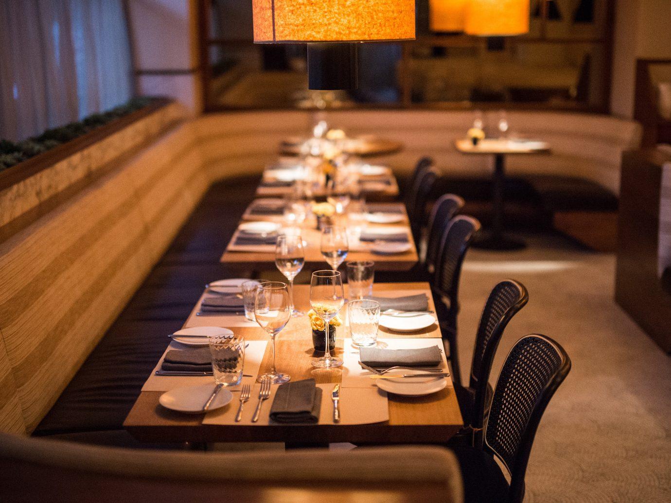 Food + Drink Romance table indoor room meal restaurant function hall interior design Design
