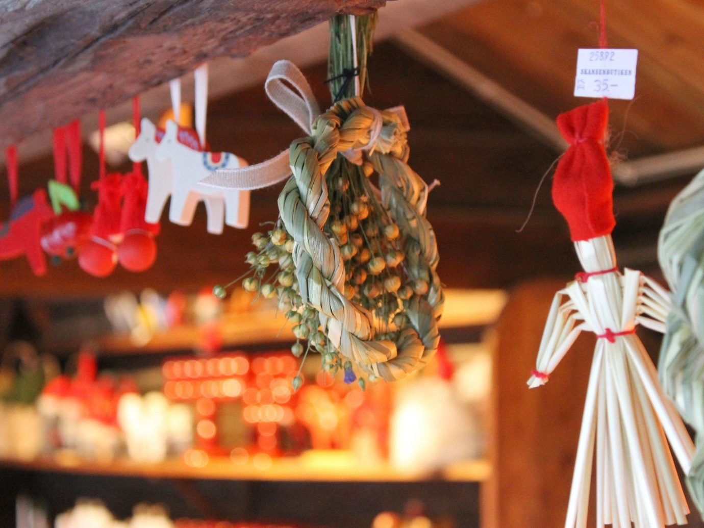 Trip Ideas red indoor Christmas meal Shop