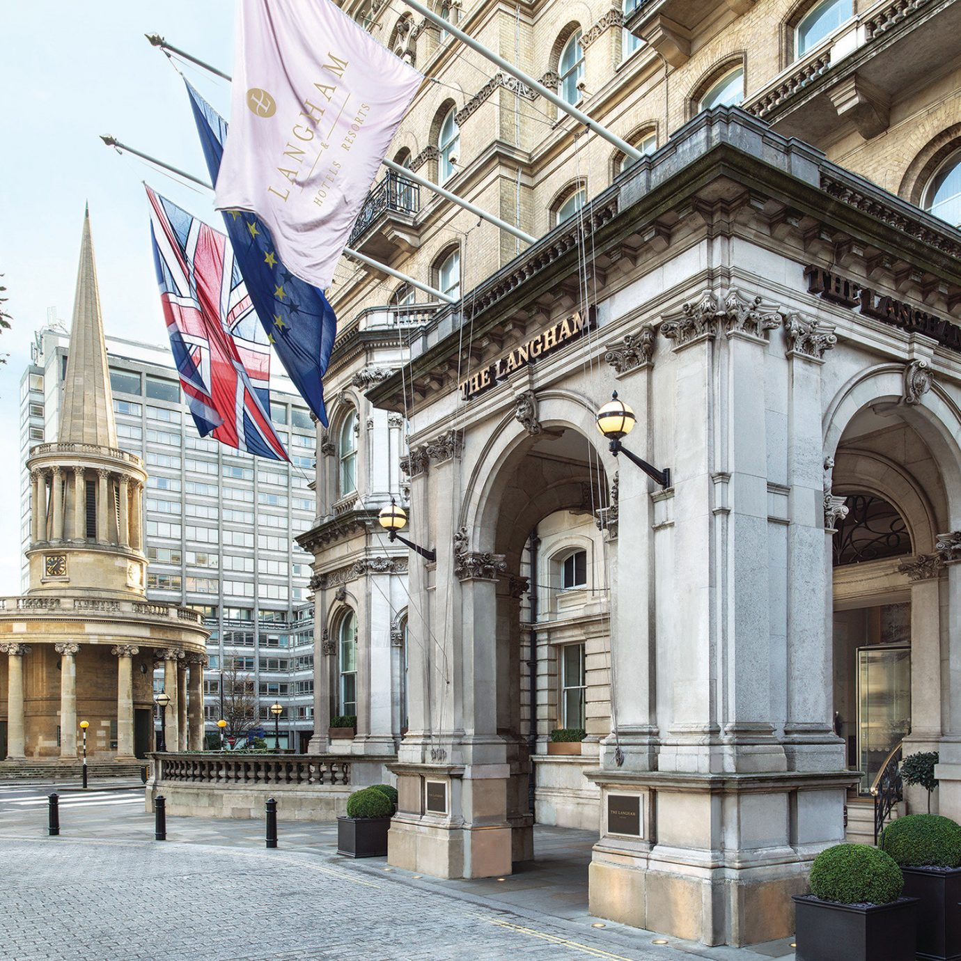 Hotels London Luxury Travel building outdoor landmark classical architecture arch palace facade metropolitan area statue metropolis City window mansion medieval architecture stone