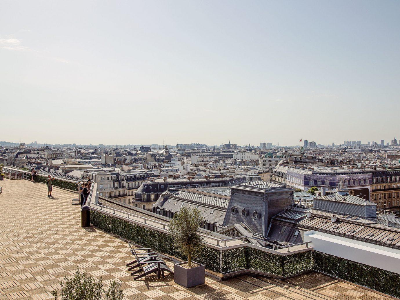 Food + Drink Paris Trip Ideas outdoor sky urban area City cityscape Sea roof building skyline horizon metropolis day several
