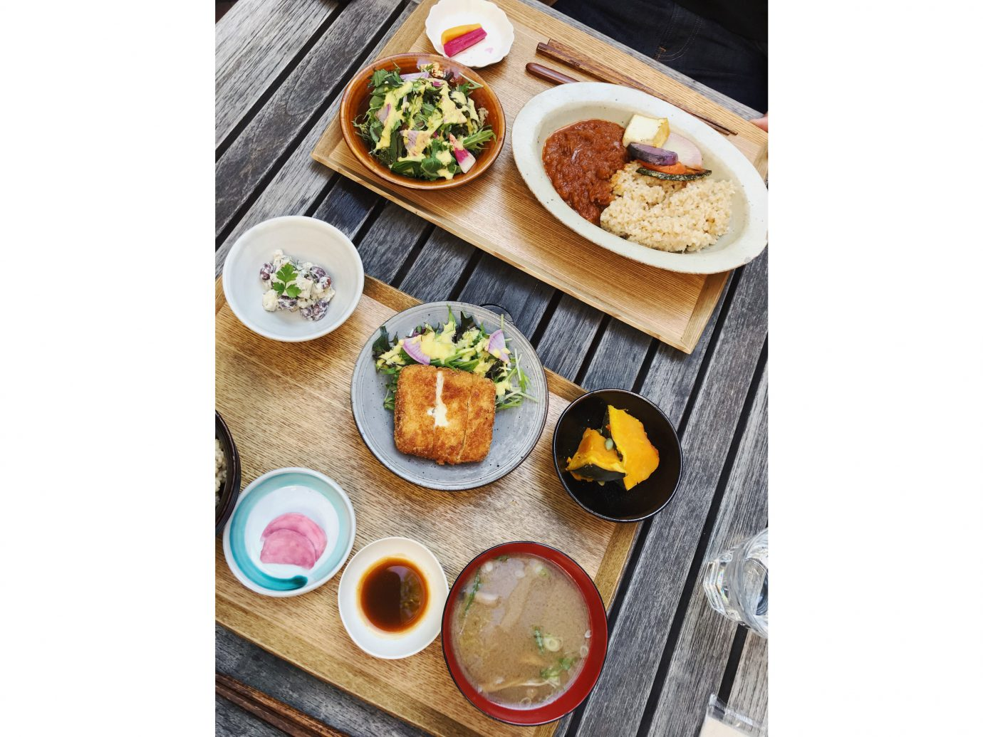 Influencers + Tastemakers Japan Photo Diary Tokyo food meal dish cuisine plate lunch breakfast asian food brunch different side dish recipe sushi appetizer comfort food vegetarian food plate lunch