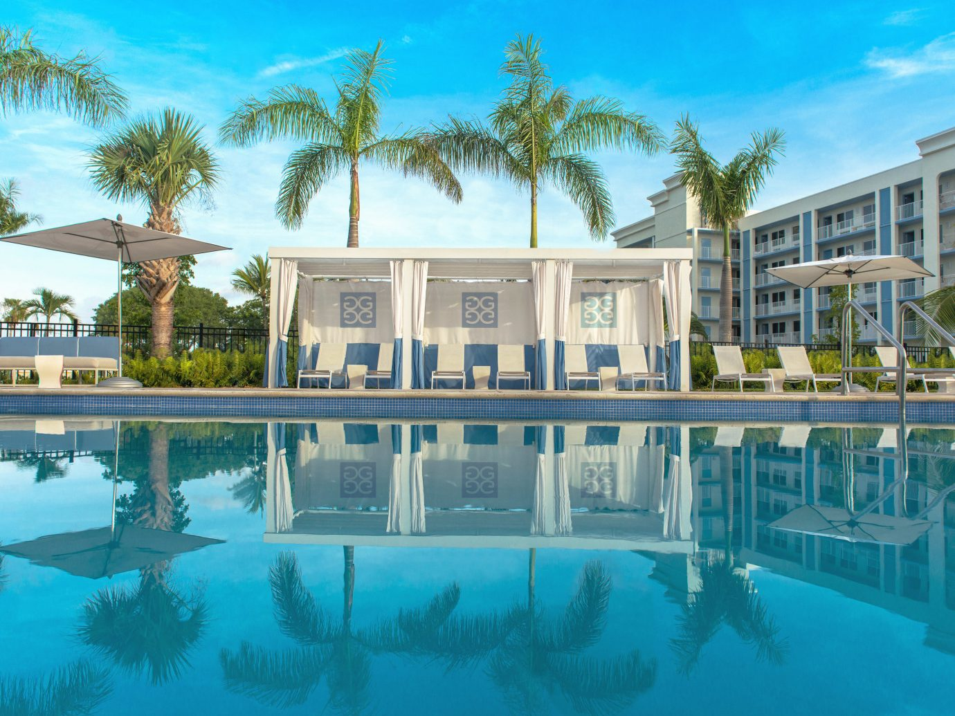 Florida Hotels tree sky outdoor swimming pool building property estate Resort condominium leisure mansion home vacation reflecting pool Villa resort town palace real estate surrounded