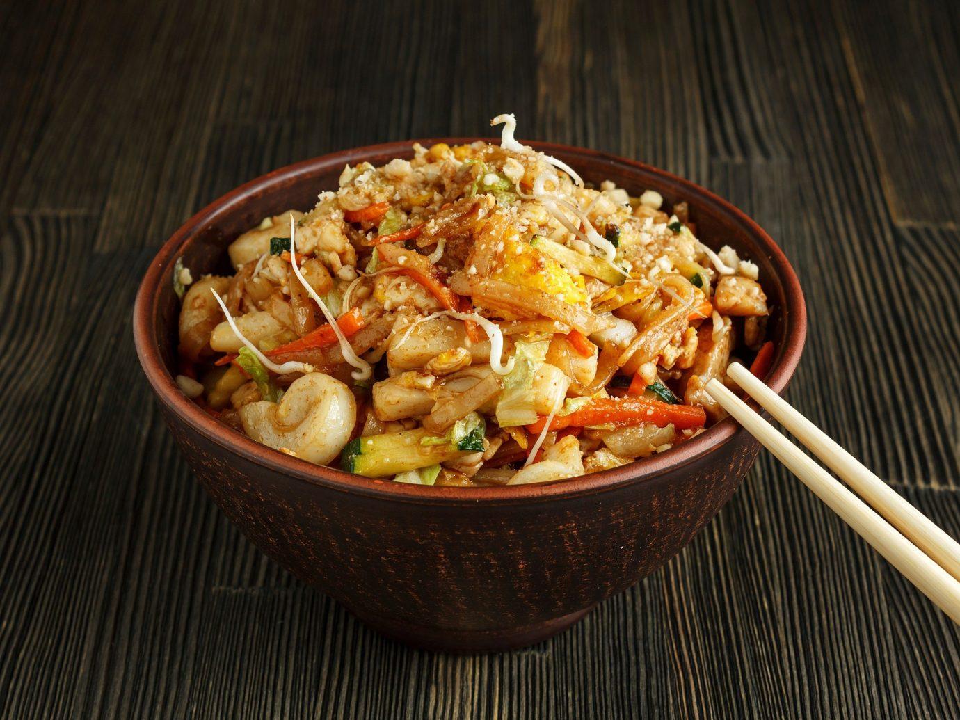 Food + Drink food table dish indoor cuisine asian food meal produce thai food chinese food Seafood vegetarian food vegetable