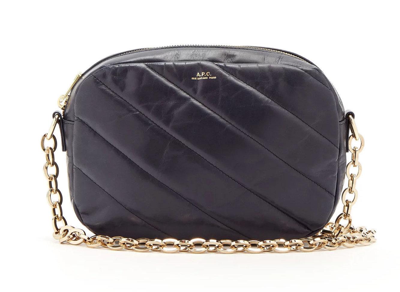 France Style + Design Travel Shop bag handbag shoulder bag leather product chain strap coin purse pattern