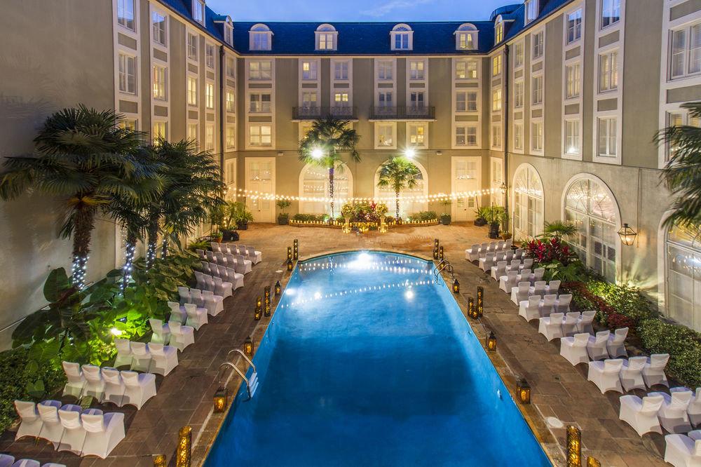 Hotels swimming pool property estate Courtyard condominium Resort reflecting pool backyard mansion Villa palace Garden plant decorated