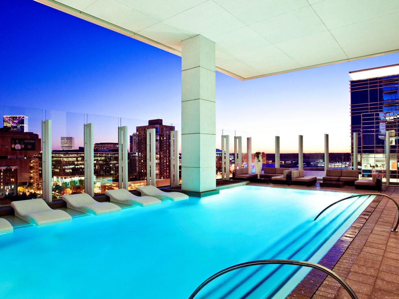Hotels Lounge Luxury Modern Pool swimming pool leisure property condominium estate Resort interior design real estate convention center