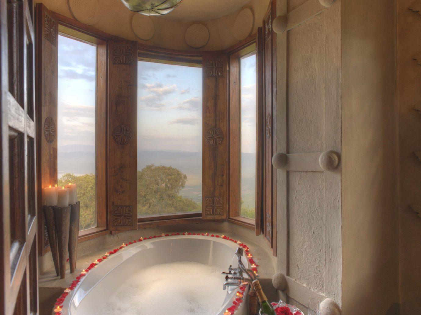 Bathroom at andBeyond Ngorongoro Crater Lodge, Tanzania African Safari
