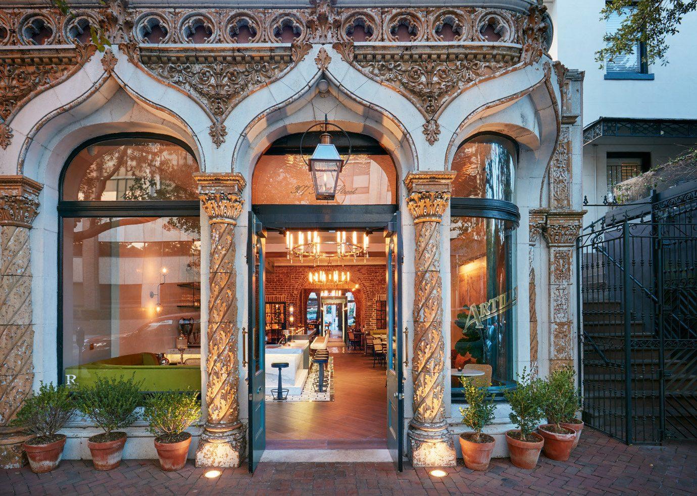 Boutique Hotels Food + Drink Girls Getaways Trip Ideas Weekend Getaways arch facade Courtyard estate real estate building window hacienda