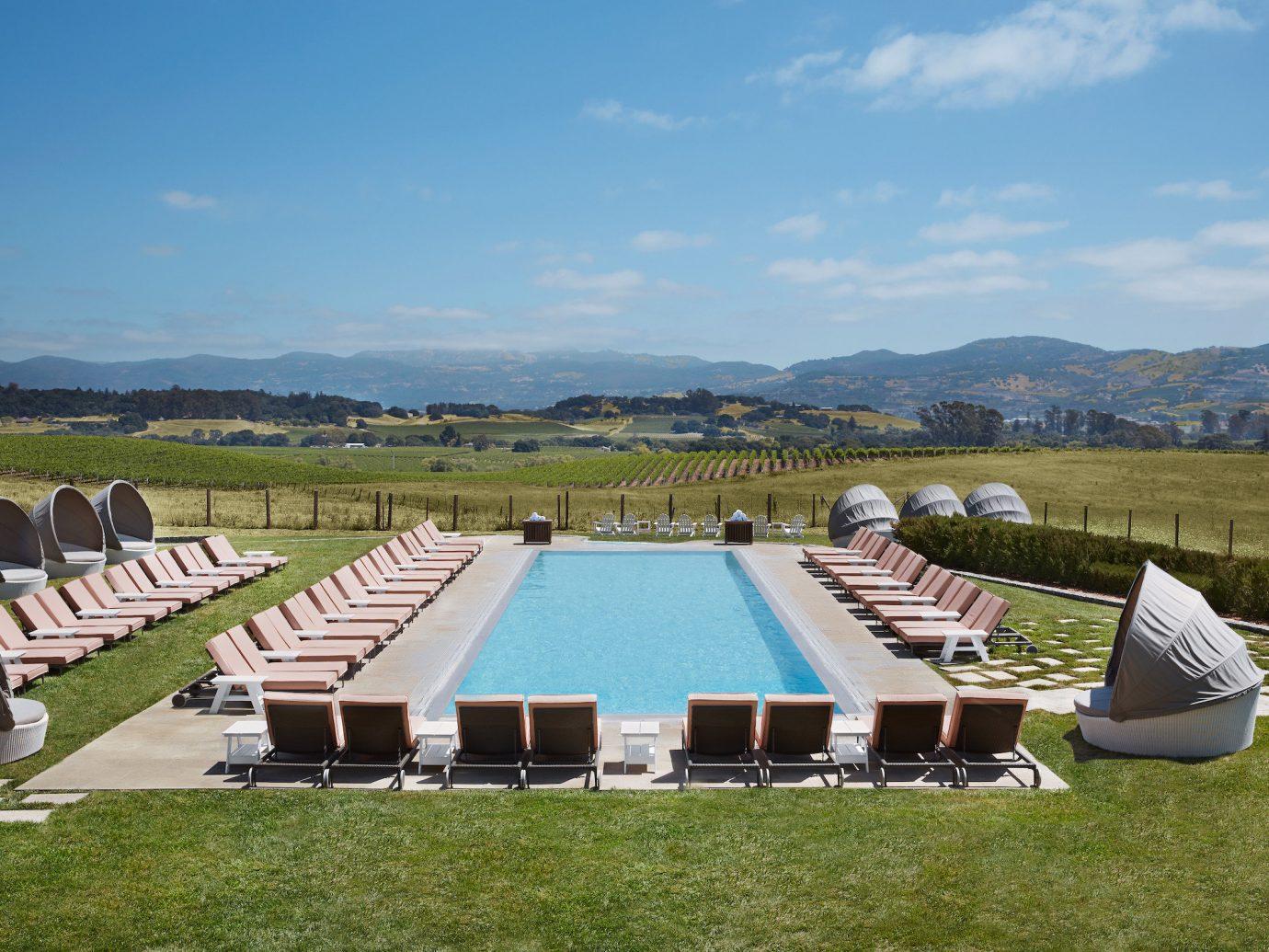 Hotels Romance Spa Retreats Trip Ideas grass outdoor swimming pool sport venue mountain estate lawn stadium backyard set