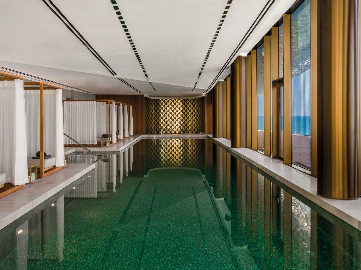 Dubai Hotels Luxury Travel Middle East indoor floor interior design real estate apartment long