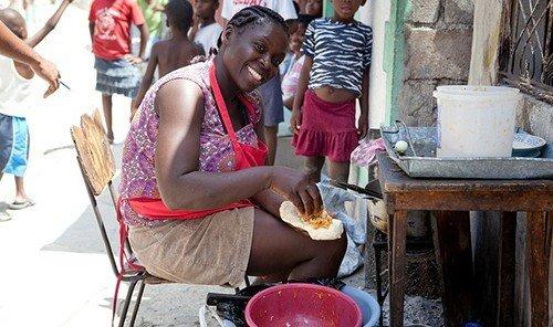 Food + Drink person ground outdoor people vendor sense