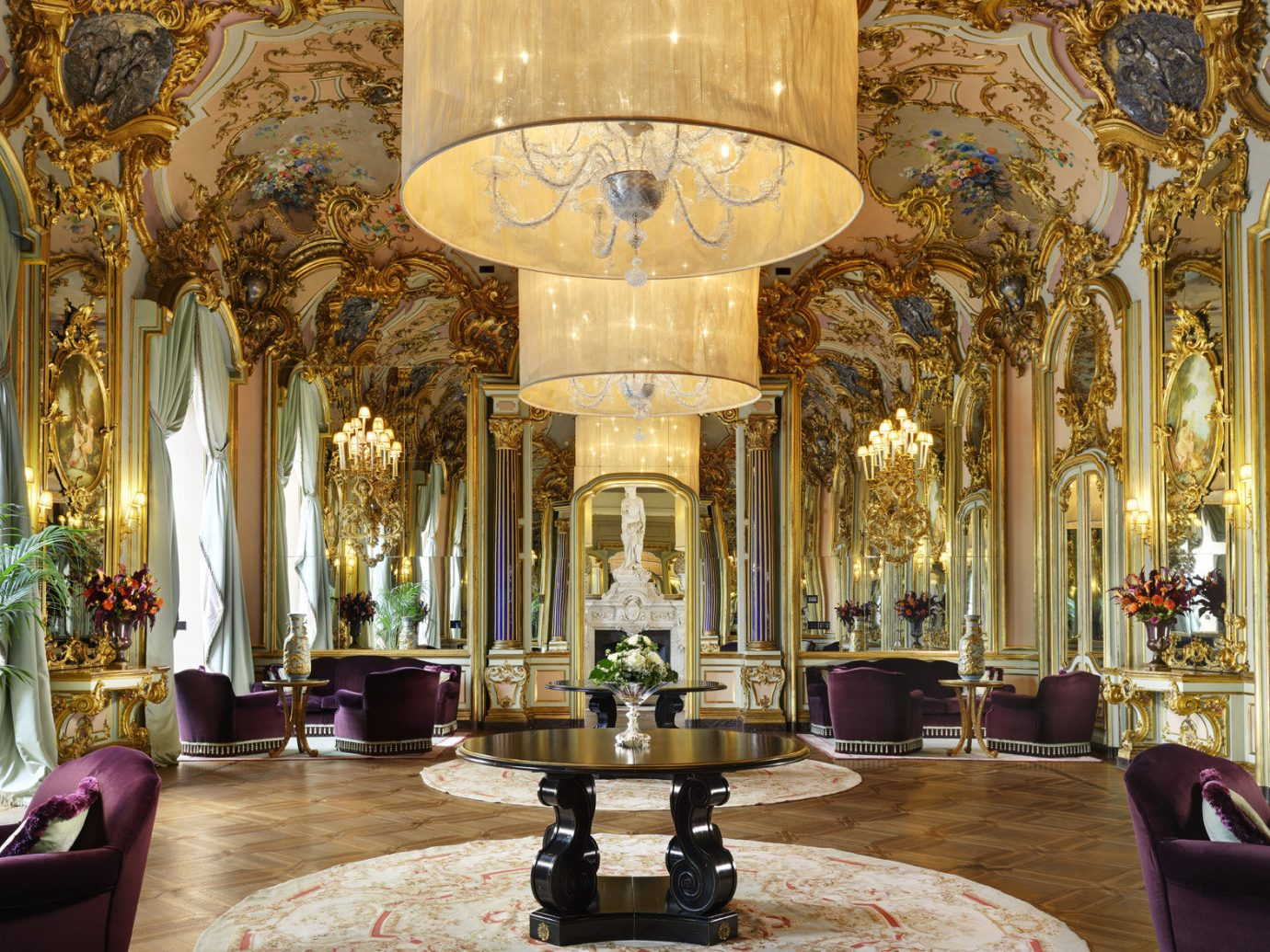 Florence Hotels Italy indoor window building room Lobby palace estate interior design place of worship mansion chapel altar synagogue ballroom decorated furniture several