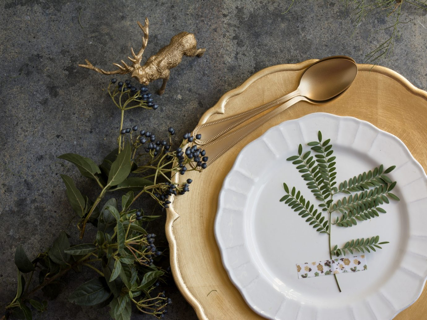 Style + Design plate green flora botany leaf plant art flower herb produce vegetable