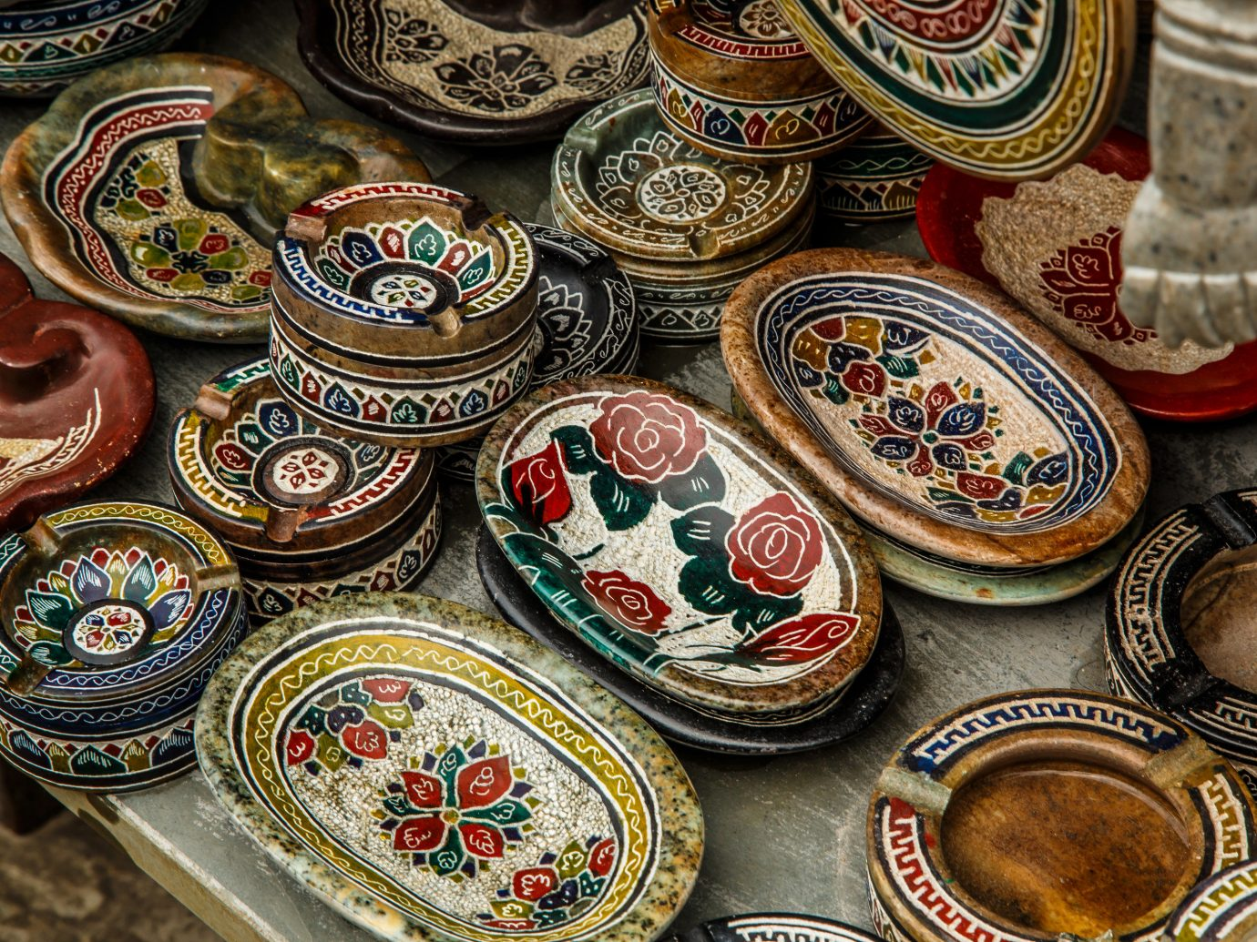 Beaches Brazil Trip Ideas plate art food many ancient history bazaar different tradition decorated displayed several decorative assortment set