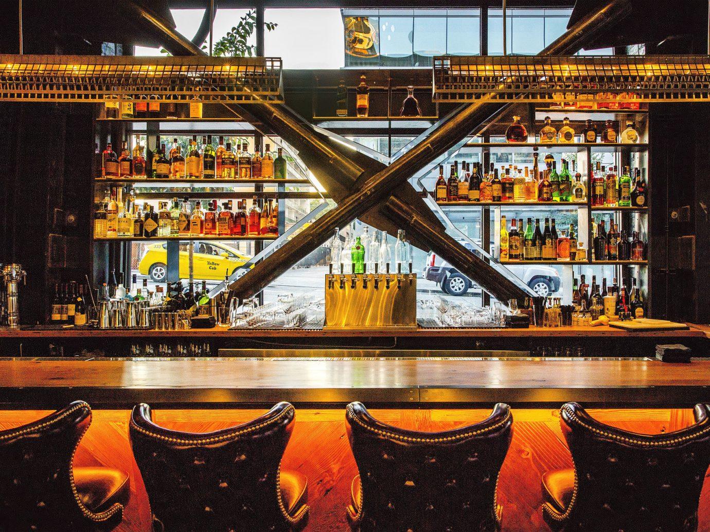 Food + Drink orange Bar night yellow restaurant evening colored