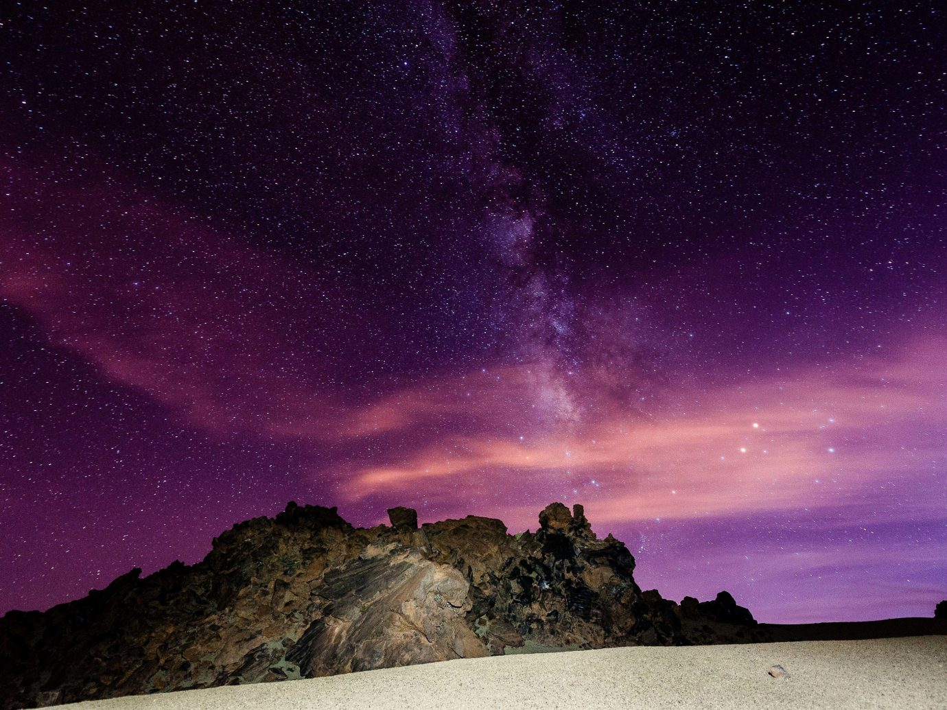 Trip Ideas sky Nature atmosphere purple mountain night geological phenomenon astronomical object phenomenon star outer space Night Sky galaxy landscape horizon milky way astronomy darkness space midnight meteorological phenomenon cloud dawn
