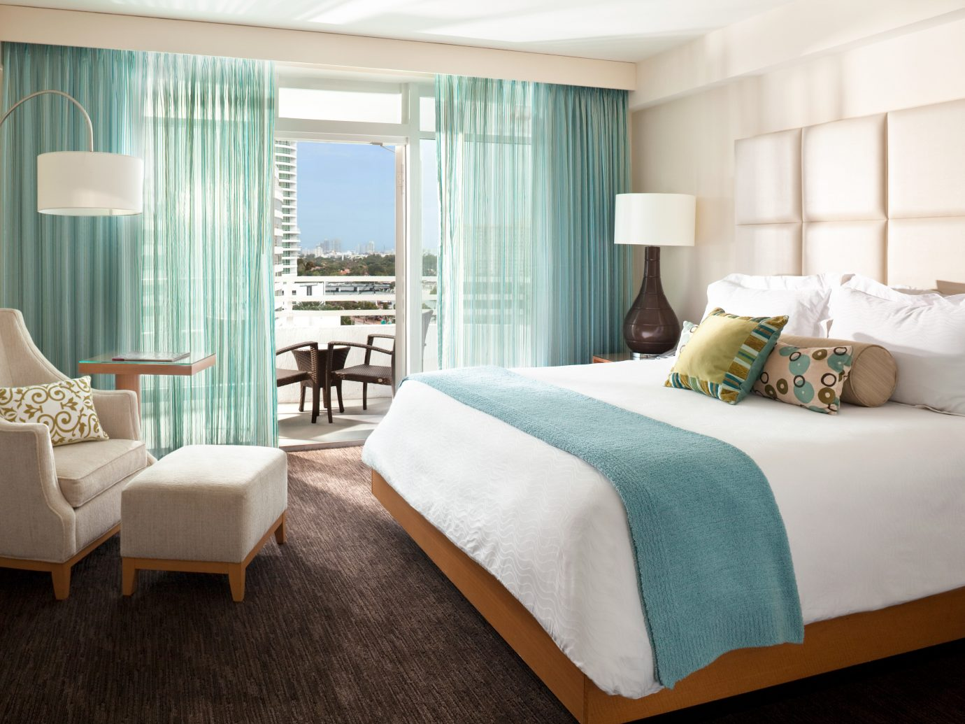 Bedroom at Fontainebleau Miami Beach