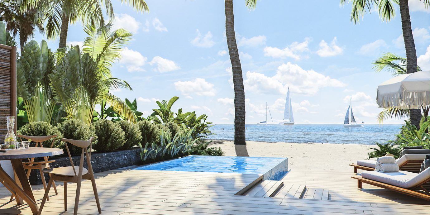 View From Itz'Ana Resort And Residences In Belize
