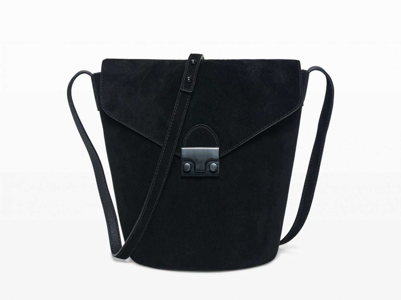 Style + Design bag handbag leather shoulder bag black messenger bag fashion accessory brand accessory textile