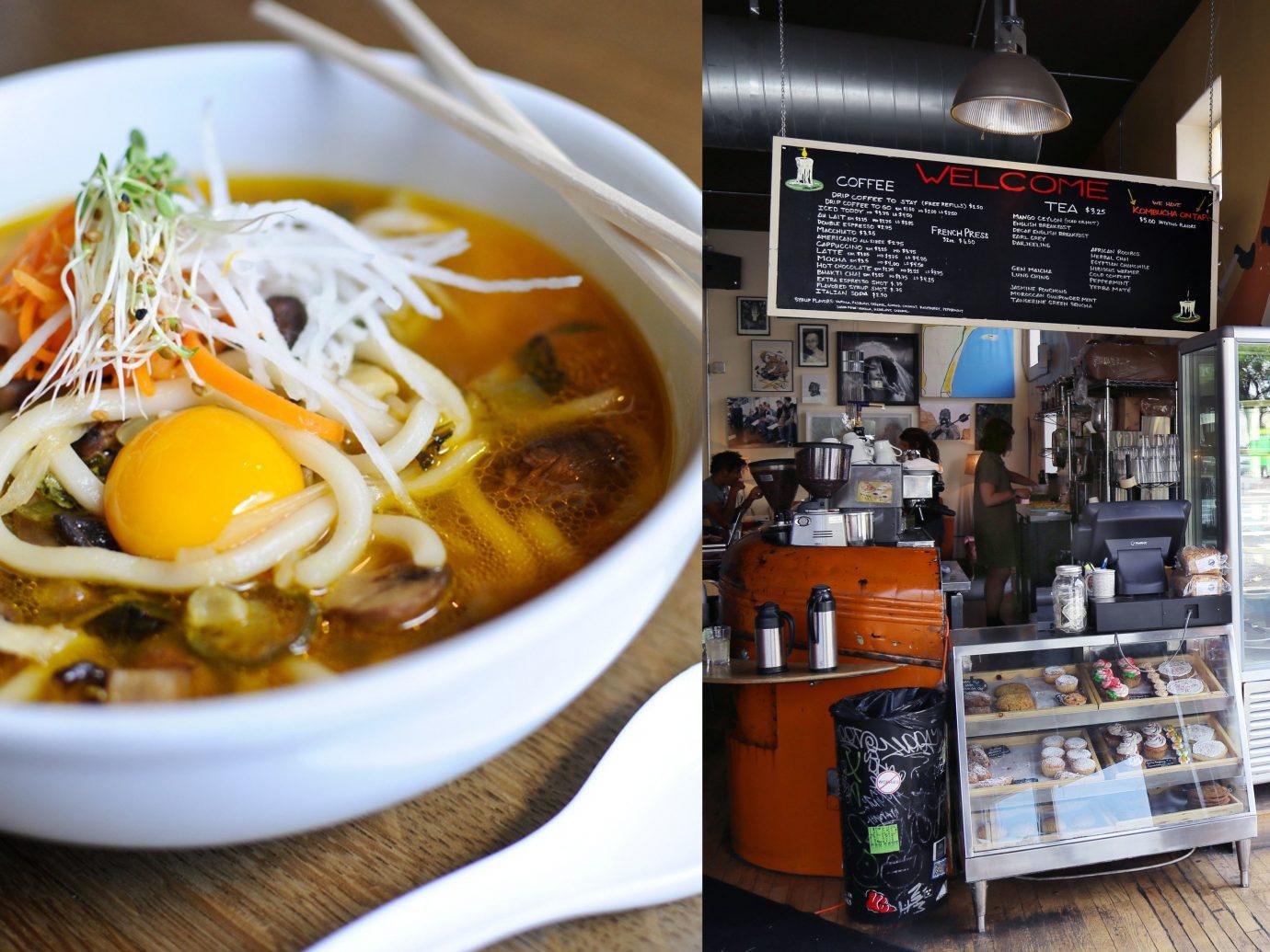 Food + Drink food indoor dish plate soup cuisine meal noodle asian food