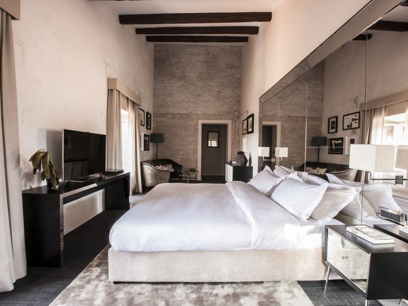 Boutique Hotels Hotels indoor wall floor room interior design bed ceiling furniture bed frame Suite Bedroom interior designer loft flooring